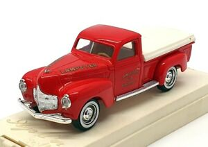 Solido 1/43 Scale Diecast 1207 - 1950 Dodge Pick Up Fire Truck - Red