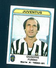 Figurina Calciatori Panini 1980/81! N.198 Furino! Juventus! Ottima!!