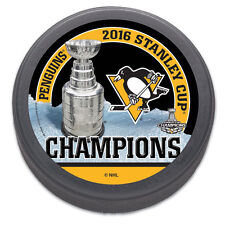 Pittsburgh Penguins 2016 Stanley Cup Champions Souvenir Hockey Puck NHL
