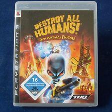 Ps3-PLAYSTATION ► Destroy All Humans! la strada del furon ◄ completamente in tedesco