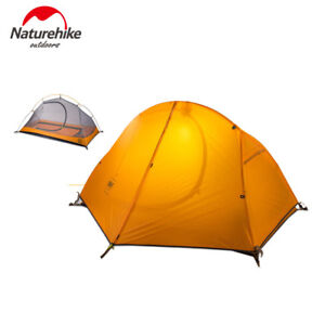 Ultralight Backpacking Tent Double Layer Waterproof Tent  With Carrying Bag