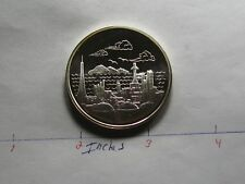 CHINA SHANGHAI PETROCHEMICAL COMPANY VERY RARE 999 SILVER COIN ONLY 1 ON EBAY