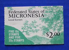 Micronesia (#36b) 1988 Local Scenes MNH booklet