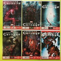Superior Carnage #1 2 3 4 5 + Annual Marvel NM 9.4