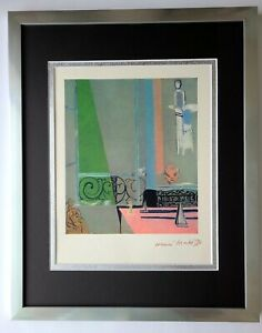HENRI MATISSE 1948 AWESOME SIGNED PRINT MATTED TO BE FRAMED 14X11 BUY IT NOW