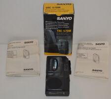 Sanyo Talk-Book TRC-570M Microcassette Dictation Dictaphone enregistreur vocal SAV