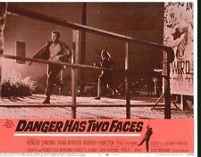 Danger Has Two Faces 11x14 Lobby Card #3