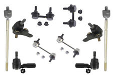 Suspension & Steering Kit Ball Joints Sway Bar Links Tie Rods Front Both Side