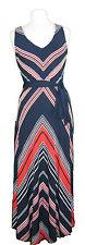 Viscose V-Neck Party Geometric Dresses for Women