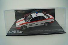 Modello di auto 1:43 OPEL Collection Opel Omega svizzero polizia 1994-1998 n. 117