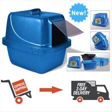 Van Ness Sifting Enclosed Cat Pet Litter Pan Odor Control Box Extra-Giant