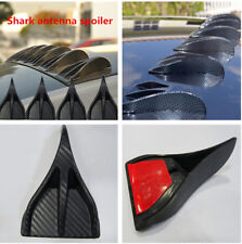 8Pcs Carbon Fiber Surface Tail Lines Spoiler for Car Rear Midpoint Truck Roof