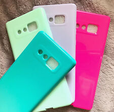 for Samsung Galaxy Note 8 - Flexible TPU Rubber Gummy Jelly Phone Case Cover