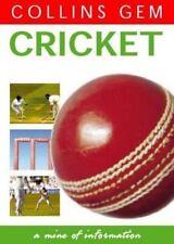 book CRICKET by Jeff Fletcher Collins Gem pocket size