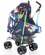 New Cosatto To and fro reversible pushchair in pitter patter with footmuff & pvc