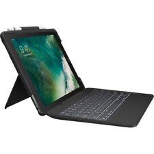 Logitech Slim Combo Keyboard/Cover Case (Folio) for 12.9  Apple iPad Pro Tablet