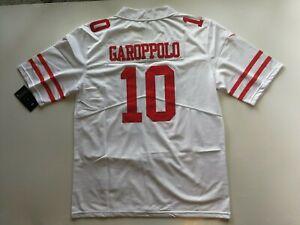 Jimmy Garoppolo #10 San Francisco 49ers. Football jersey. Size XL .Free shipping