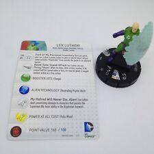 Heroclix DC 10th Anniversary set Lex Luthor #020 Rare figure w/card!