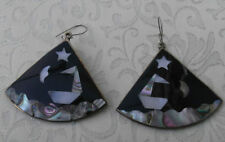 Mother of Pearl Earrings Mexican Jewellery
