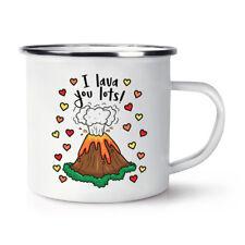 MI è un sacco di lava Retrò Smalto Tazza-Divertente Giorno San Valentino Amore fidanzata