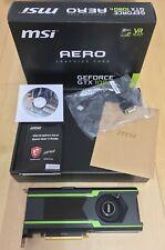 MSI Geforce GTX 1080Ti Aero OC 11GB GDDR5 Graphics Card (Read Description)
