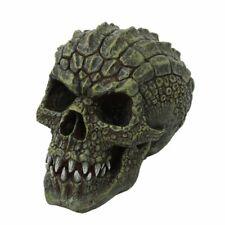 Gator Head Skull Figurine Statue Skeleton Halloween