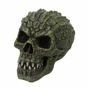 Gator Head Skull Figurine Statue Skeleton Halloween