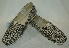Skechers Bobs Plush Women's Hot Spotted Leopard Slip On Flats-Assorted Size NWOB