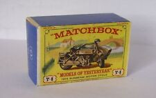 Repro Box Matchbox MOY Nr.08 1914 Sunbeam Motor Cycle