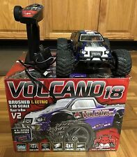 Redcat Racing Volcano-18 V2 1/18 Scale Electric Monster Truck 4x4 1:18 RC Car RD