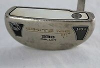 Odyssey White Ice 330 Mallet 345G  Putter Stainless Steel Shaft RH Men's 35""