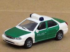 "Ford Mondeo Ghia Stufenheck neu in weiß/grün ""Polizei"", o. OVP, Rietze, 1:87"