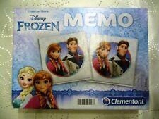 """! wie neu ! Clementoni Spiel Memo """" Frozen """" Die Eiskönigin ab 4 Jahren 13483"""