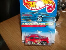 HOTWHEELS FROM 1999 FORD ESCORT RALLY (COSWORTH ) UNO IN RED DAMAGED BUBBLE