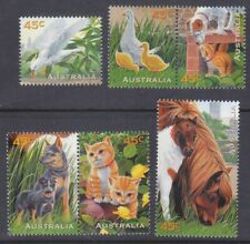 Australia 1558-63 Mnh 1996 Pets Complete Set w/Pairs Very Fine