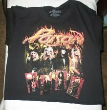 Poison T-Shirt Band metal rock Girls Tee S Last NWT