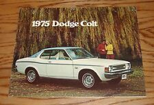 Original 1975 Dodge Colt Sales Brochure 75