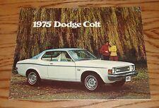Original 1975 Dodge Colt Sales Brochure 75