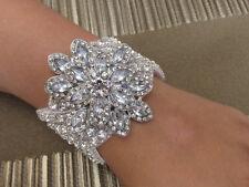 BEST SELLING Luxury Vintage Style Crystal and Rhinestone Bridal  Bracelet/Cuff