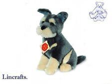 Sitting Schnauzer Puppy Plush Soft Toy Dog by Teddy hermann from Lincrafts 92783