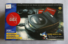 Sega Genesis CDX CD System/Console • NTSC Multi-Mega Drive MK-4120 •Complete