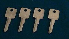 4 1973 Chevrolet Camaro GM Key Blanks Original NOS