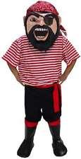 Col. Keel Haul Pirate Professional Quality Lightweight Mascot Costume