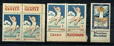 FRANCE 1929 - 1931, SET 5 CHARITY STAMS, ANTI TBC, CONTRE LA TUBERCULOSE      m