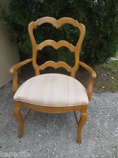 Ladder back Arm Chair French Country French Country Cottage Captain Shabby Chic