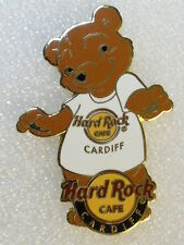 CARDIFF,Hard Rock Cafe Pin,White BEAR T-Shirt Series