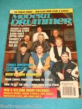 MODERN DRUMMER - NASHVILLE STUDIO ROUND TABLE - JUNE 1996