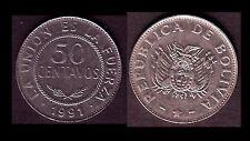 ★★ BOLIVIE ● 50 CENTAVOS 1991 ● E2 ★★