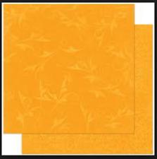 BoBunny 12x12 papel scrapbooking Doble Dot, Naranja Citrus Florecer X 2 Hojas