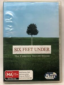 Six Feet Under - Complete Second Season - 5 DVD Set - AusPost with Tracking